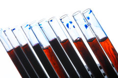 Análisis de sangre fotos de archivo
