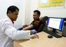 Análisis de sangre imagen de archivo libre de regalías