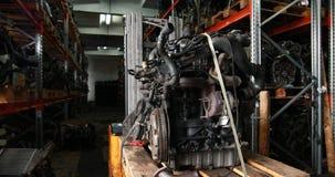 Análisis del motor de coche metrajes