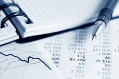 Análisis financiero. fotos de archivo libres de regalías