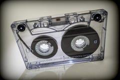 Análogo de las cintas de casete, concepto del vintage Foto de archivo