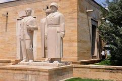 Anıtkabir, the Mausoleum of Mustafa Kemal Atatürk. Stock Images
