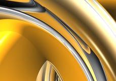 Anéis 02 da laranja Imagem de Stock Royalty Free