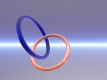Anéis Fotografia de Stock