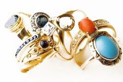 Anéis Foto de Stock