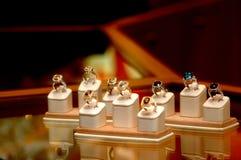 Anéis Foto de Stock Royalty Free