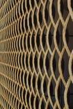 Anéis da grade do metal da textura foto de stock