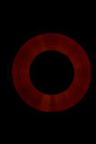 Anéis da luz vermelha Foto de Stock