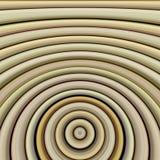 Anéis de bambu estilizados concêntricos Fotografia de Stock Royalty Free