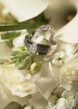 Anéis de casamento Fotografia de Stock Royalty Free