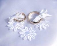 Anéis de casamentos Imagem de Stock Royalty Free