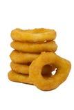 Anéis de cebola imagem de stock
