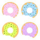 Anéis de espuma coloridos ilustração stock