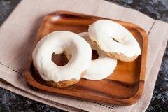 Anéis de espuma cozidos caseiros Fotografia de Stock