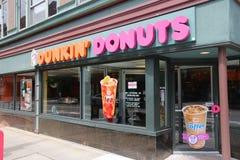 Anéis de espuma de Dunkin imagem de stock royalty free