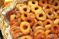 Anéis de espuma do açúcar Fotos de Stock Royalty Free