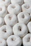 Anéis de espuma do açúcar fotografia de stock
