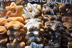 Anéis de espuma do Natal Fotografia de Stock Royalty Free