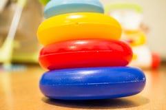 Anéis do brinquedo Fotos de Stock Royalty Free