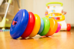 Anéis do brinquedo Imagens de Stock Royalty Free