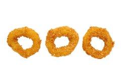 Anéis do Calamari Fotografia de Stock Royalty Free