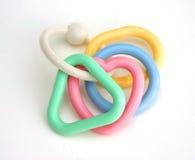 Anéis do chocalho do miúdo Imagem de Stock Royalty Free