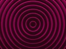 Anéis do encanto Fundo geométrico radial Foto de Stock Royalty Free