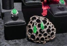 Anéis e brincos Imagem de Stock