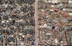 Anéis e colares dos braceletes Fotografia de Stock Royalty Free