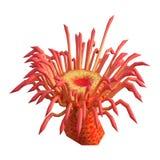 anémona de mar de la representación 3D en blanco libre illustration