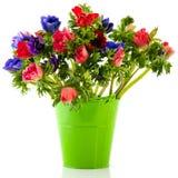 Anémones de bouquet photo stock