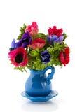 Anémones de bouquet photographie stock libre de droits