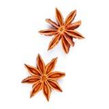 Anís de estrella dos Imagenes de archivo