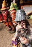 Anões de madeira Fotografia de Stock Royalty Free
