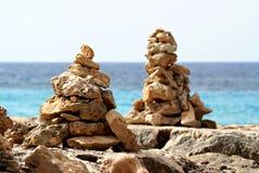 Anões de pedra em mallorca Fotografia de Stock