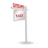Anúncio da venda Imagem de Stock Royalty Free