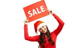 Anúncio da venda Fotografia de Stock Royalty Free
