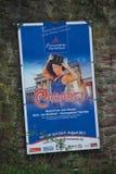 Anúncio do castelo de Clingenburg, Klingenberg Imagem de Stock