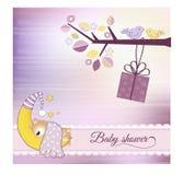 Anúncio do chuveiro de bebê Imagem de Stock