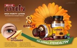 Anúncio do lutein da pureza alta Fotos de Stock