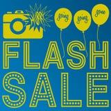Anúncio instantâneo da venda Fotografia de Stock Royalty Free