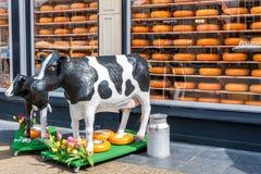 Anúncio para o queijo holandês Foto de Stock Royalty Free