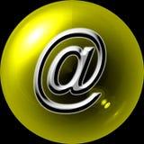 ANÚNCIO PUBLICITÁRIO DE WEB-BUTTON @ Imagens de Stock Royalty Free