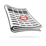 Anúncios classific identificados por meio de círculo Foto de Stock