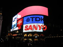 Anúncios publicitários de Londres Fotografia de Stock