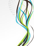 An Abstract Design Template Stock Photography