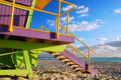 Free An Art Deco Lifeguard Stand At Miami Beach Stock Photography - 70718622