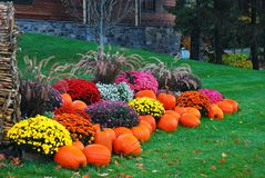 Free An Autumn Display In New England Stock Photos - 147670223
