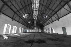 Free An Empty Desolate Industrial Building Inside Stock Photo - 37608920