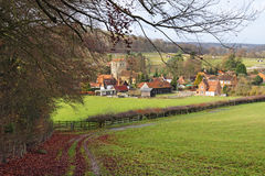 An English Rural Hamlet In Buckinghamshire Stock Images